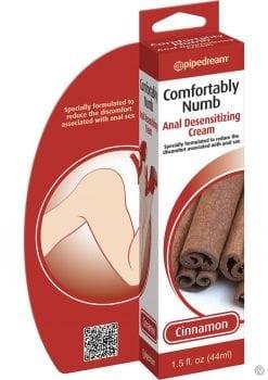 Comfortably Numb Anal Desensitizing Cream Cinnamon 1.5 Ounce
