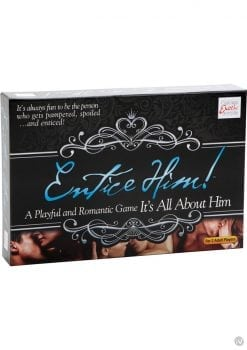 Entice Him Game It`s All About Him Board Game