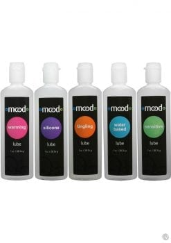 Mood Lubricant 1 Ounce Assorted 5 Pack