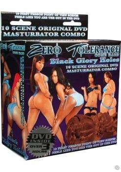 Zero Tolerance Black Glory Holes Masturbator And DVD