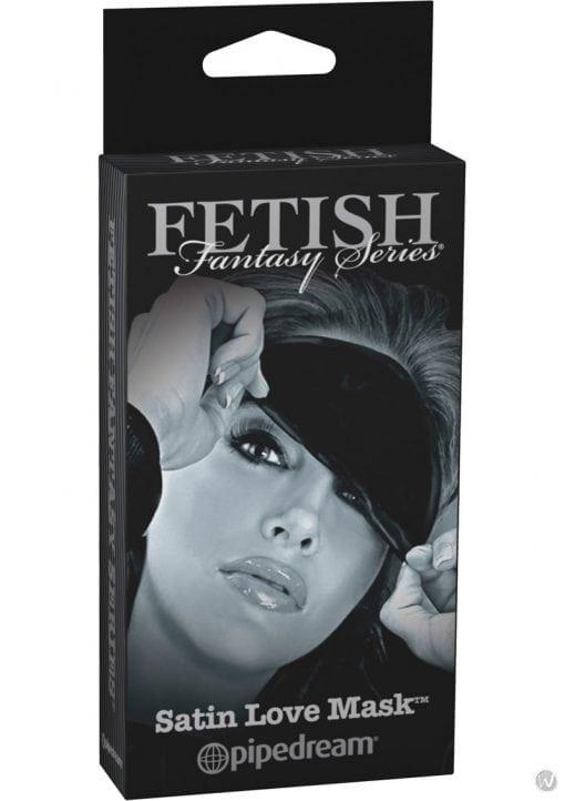 Fetish Fantasy Series Limited Edition Satin Love Mask Black