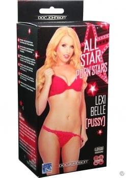 All Star Porn Stars Lexi Belle UR3 Pocket Pussy Masturbator Flesh
