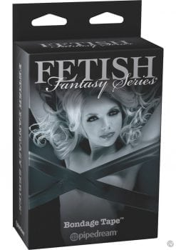 Fetish Fantasy Series Limited Edition Bondage Tape Black