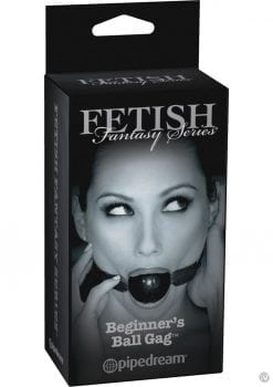 Fetish Fantasy Series Limited Edition Beginner`s Ball Gag Black