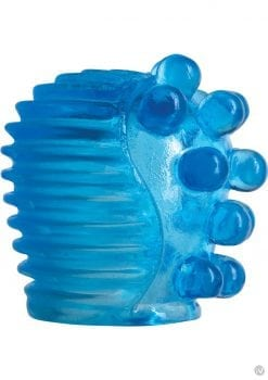 Magic Massager Big Nubs And Ridge Pleasure Attachment Waterproof Blue