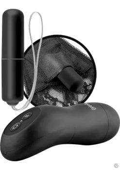 Fetish Fantasy Series Limited Edition Remote Control Vibrating Panties Black