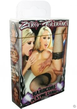 Zero Tolerance Hardcore Playing Cards