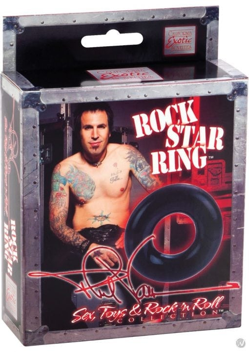 Shanes World Rock Star Ring Cock Ring Black