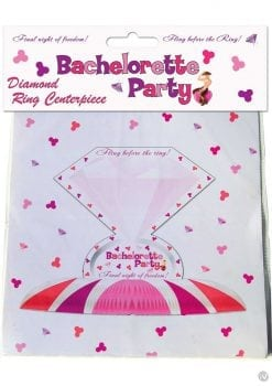 Bachelorette Party Diamond Ring Centerpiece