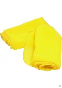 Neon Nylon Love Ties 2 each Yellow