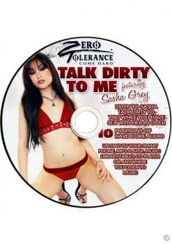 Zero Tolerance Talk Dirty To Me Sasha Grey Audio CD