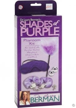 Dr Laura Berman Shades Of Purple Playroom Kit