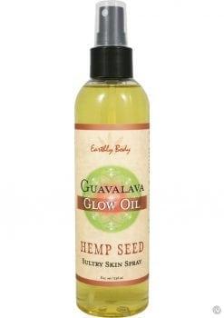 Glow Oil With Hemp Seed Guavalava 8 Ounce Spray