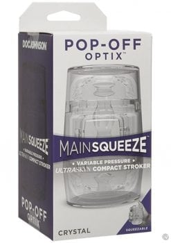 Main Squeeze Pop Off Optix Crystal Clear