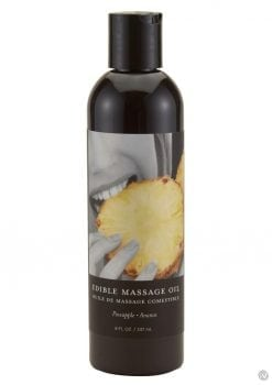 Edible Tropical Massageoil Pineapple 8oz