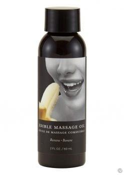 Edible Tropical Massage Oil Banana 2 Oz