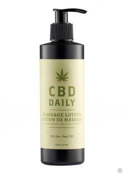 Cbd Daily Massage Lotion 8 Oz