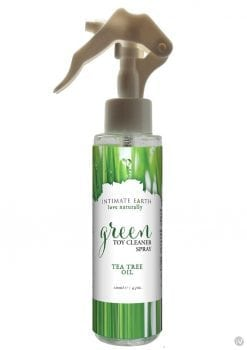 Intimate Earch Green Toy Cleaner Spray Tea Tree Oil Spray 4.2 Ounce
