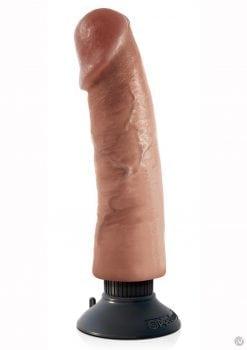 Kc 9 Vibrating Cock Tan