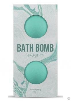 Dona Naughty Fragrance Bath Bomb 2pk