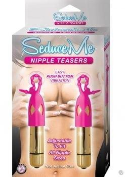 Seduce Me Nipple Teasers Gold