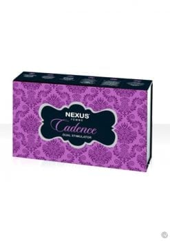 Nexus Femme Cadence Vibrator Silicone Rechargeable Waterproof Purple