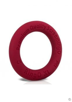 Ring O Ritz XL Individual Ring Silicone Red