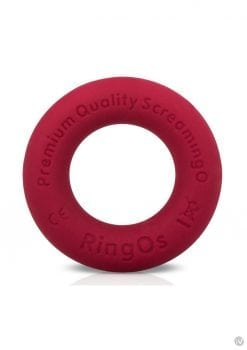 Ring O Ritz Individual Ring Silicone Red