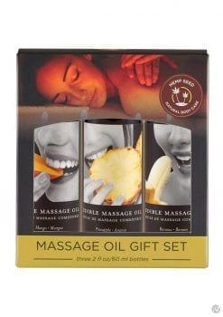 Tropical Massage Oil Trio
