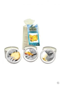 Tropical Massage Candle Trio Set
