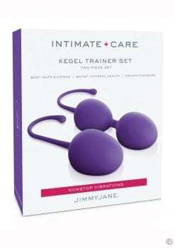 Jimmy Jane Intimate Care Kegel Set Purpl