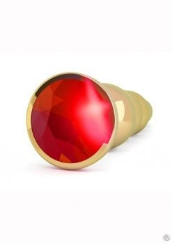Rich R5 Gold Plug 4.9 Red Sapphire