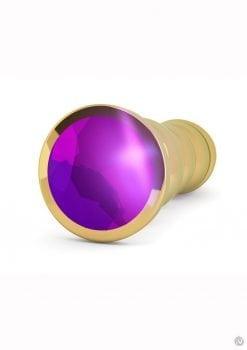 Rich R10 Gold Plug 4.9 Purple Sapphire