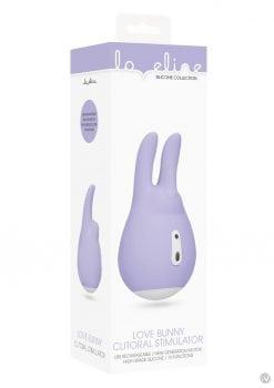 Loveline Clit Stim Love Bunny Purple