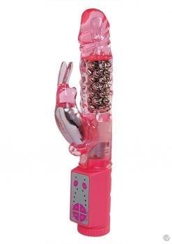 Minx Super Rabbit Vibrator Pink Os