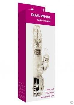 Minx Ice Rabbit Vibrator Silver Os