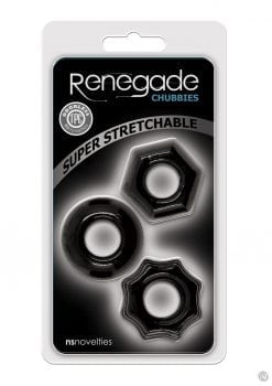 Renegade Chubbies 3pk Black