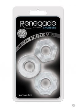 Renegade Chubbies 3pk Clear