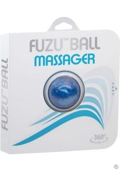 Fuzu Ball is a handheld 360 degrees rolling ball Blue