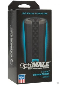 Optimale Truskyn Beaded Stroker Black