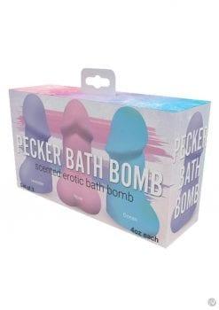 Pecker Bath Bomb 3 Pack Jasmine