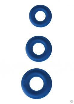 Renegade Super Soft Power Rings 3pk Blu