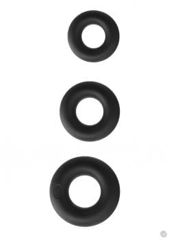 Renegade Super Soft Power Rings 3pk Blk