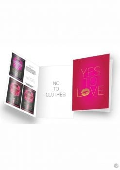 Naughty Notes Yes To Love