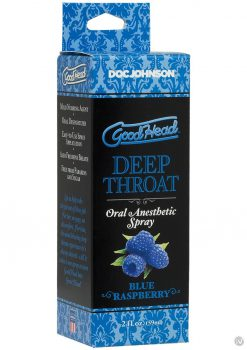 Goodhead Throat Spray Blue Raspberry 2oz
