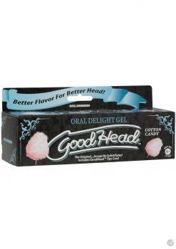 Goodhead Oral Delight Gel Cotton Can 4oz