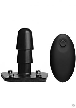 Vac U Lock Vibrating Plug W/remote