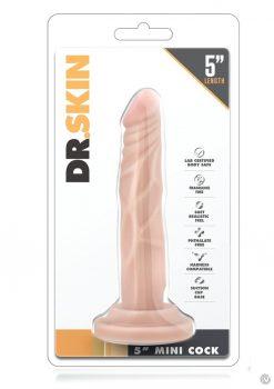 Dr. Skin Mini Realistic Cock Beige 5 Inch