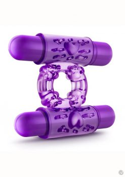 Pwm Double Play Cock Ring Purple