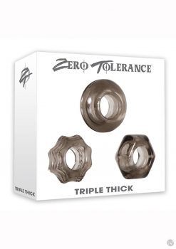 Triple Thick Cock Ring